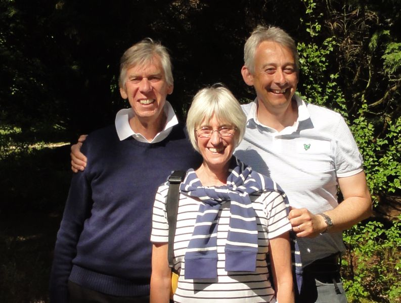 Peter, Julia, Mark Prince