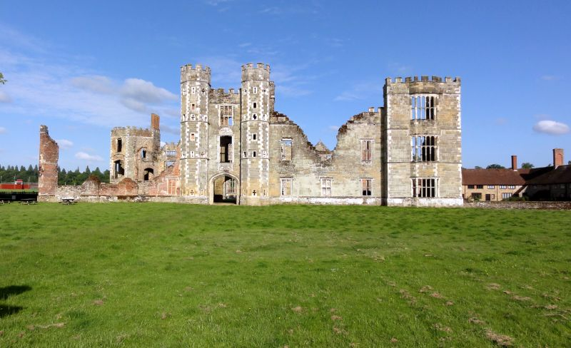Cowdray Castle in Midhurst