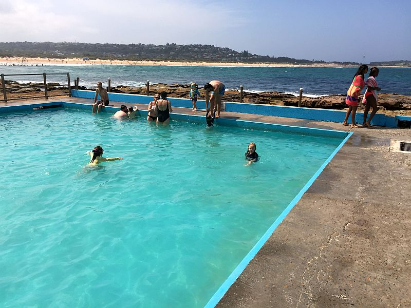 Rock Pool in Dee Why
