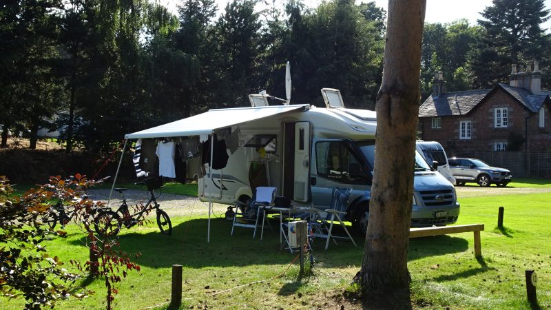 Camping in Aberlour